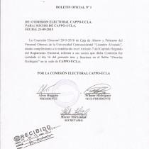 Boletin Oficial No 1